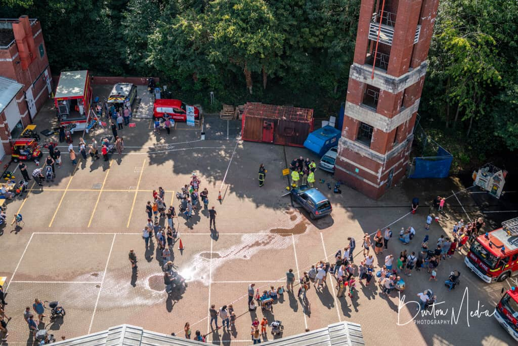 Rushmoor Open Day 2019 Aerial Shot